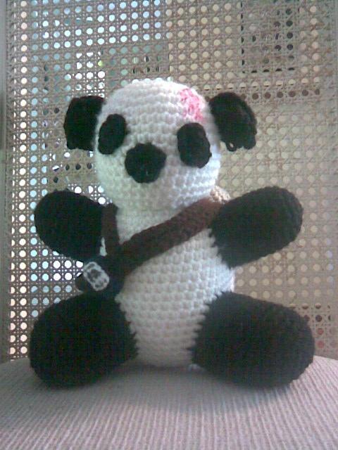Gaara Panda - Front View