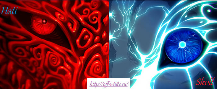 Hati and Skoll Facebook Cover Photo