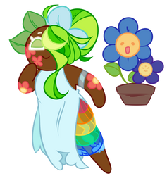[Cookie Run] Mother Nature Cookie by LittleTwistedBunny