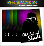 Old School Shades Poster