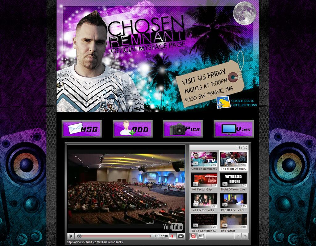 Chosen Remnant Myspace Nov 08