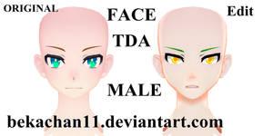 [MMDxEdit] Face TDA MALE #3