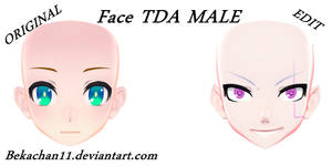 [MMDxEdit] Face TDA Male #6