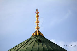 The Green Dome of Rasoul ALLAH