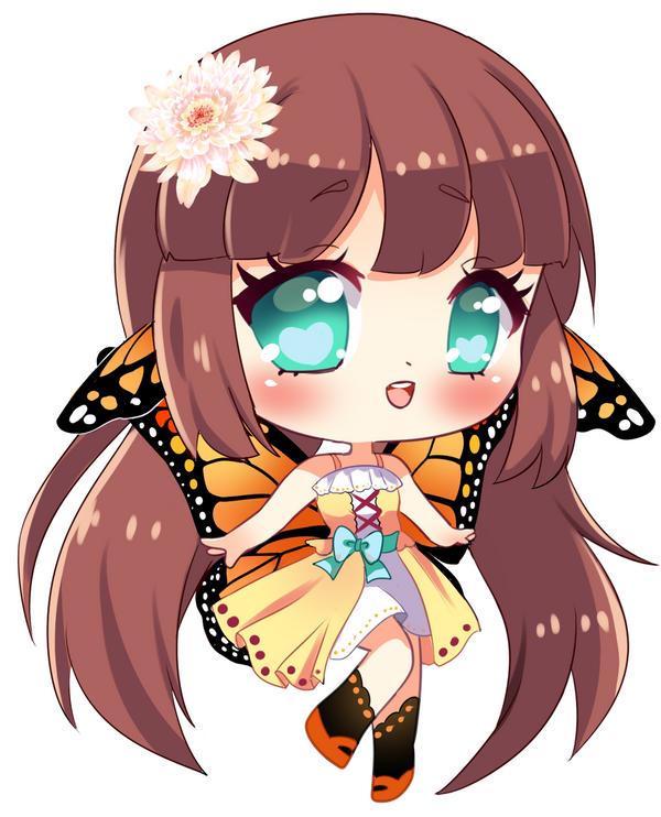 chibi anime girls fairy - photo #17