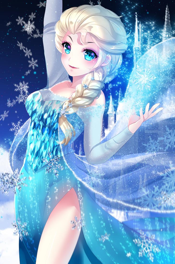 Ice Queen Elsa by felichanxx