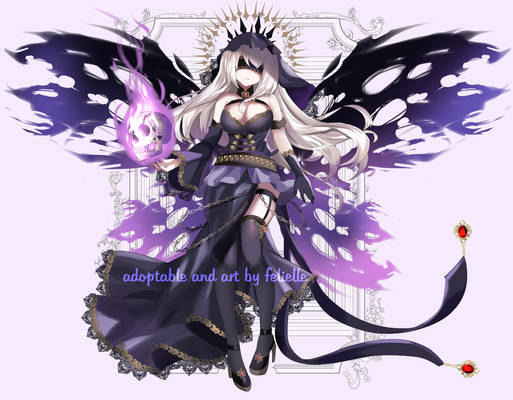ADOPT AUCTION #2: Lady Death (CLOSED)