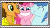 PolyPartyPones Stamp by CastoroChiaro