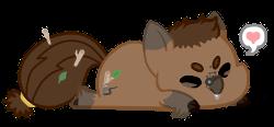 tiny beaverpone loves you by CastoroChiaro