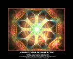 8 directions of spacetime