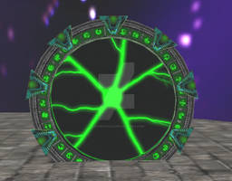 Borg Stargate from SecondLife
