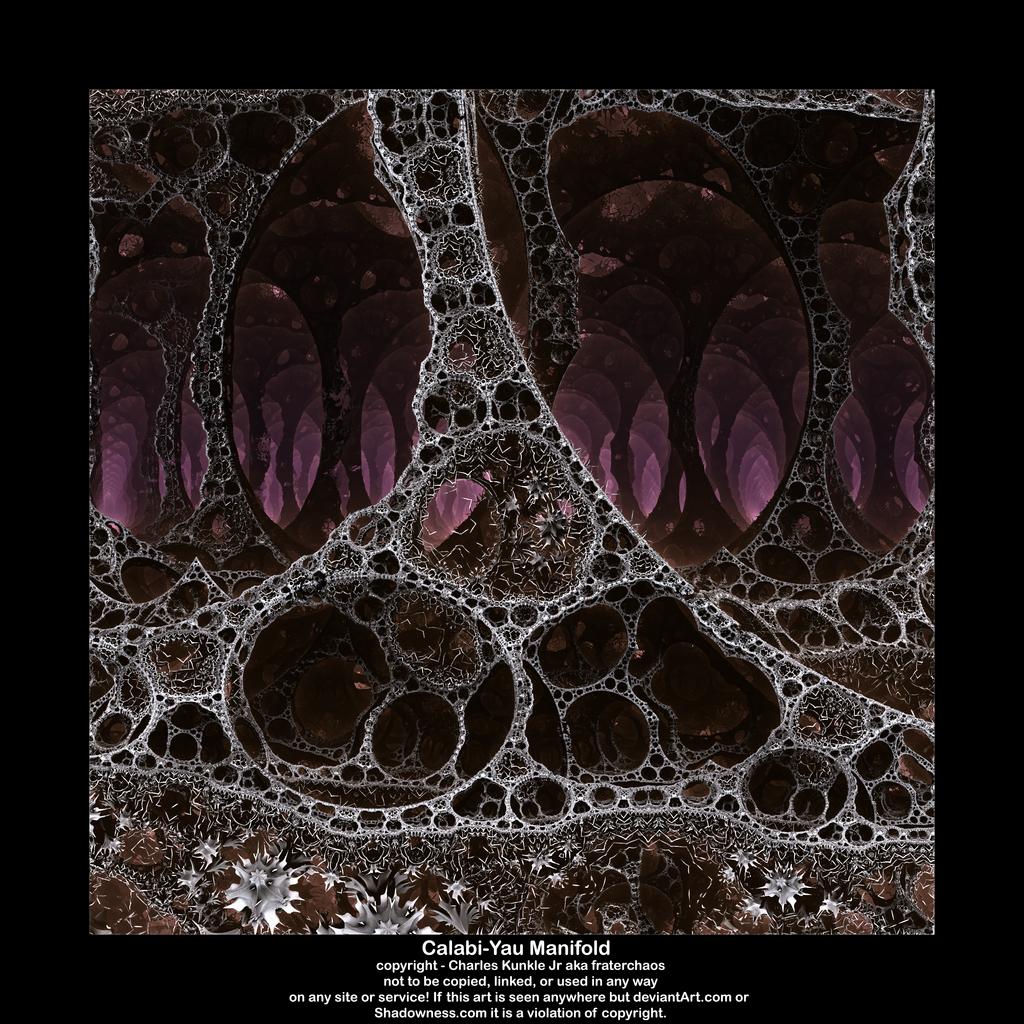 Calabi yau manifold by fraterchaos on deviantart