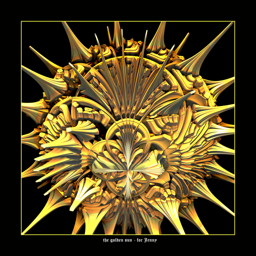 the golden sun - for Jenny by fraterchaos