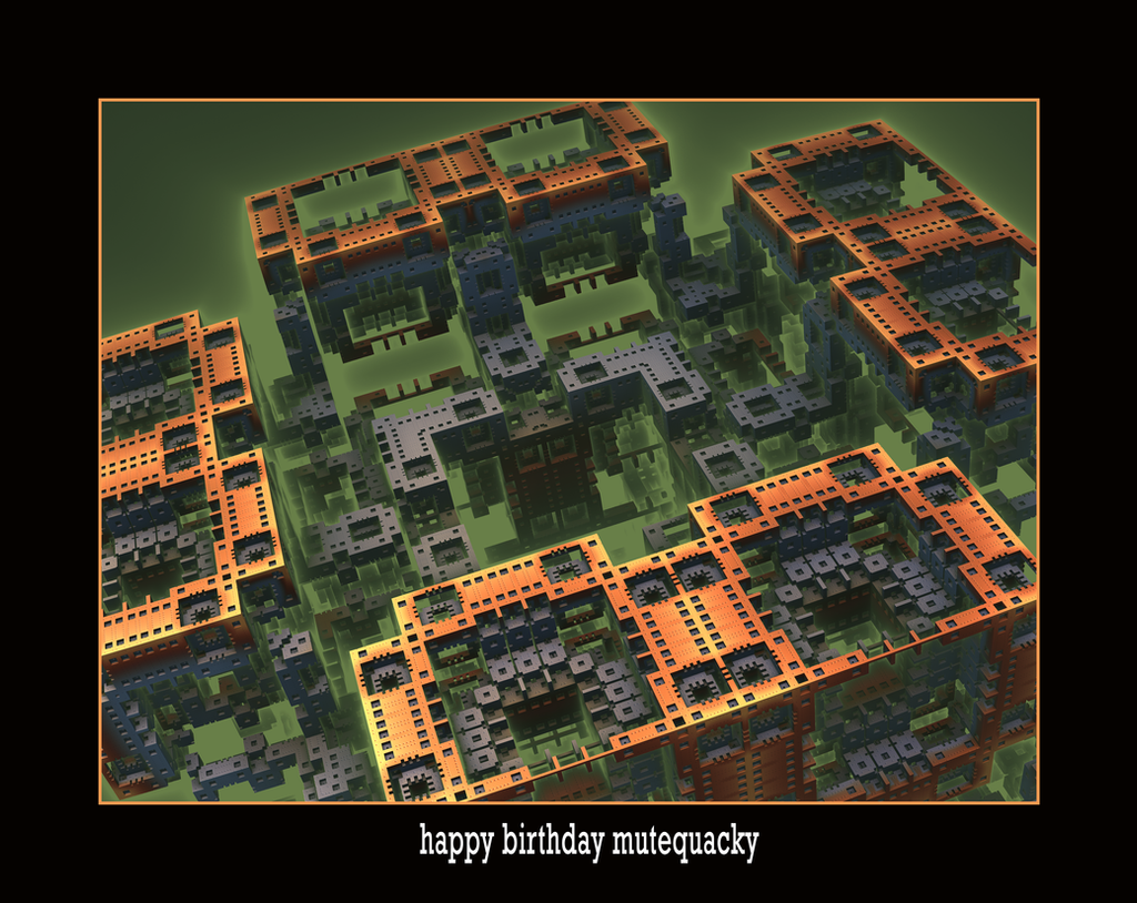happy birthday mutequacky by fraterchaos