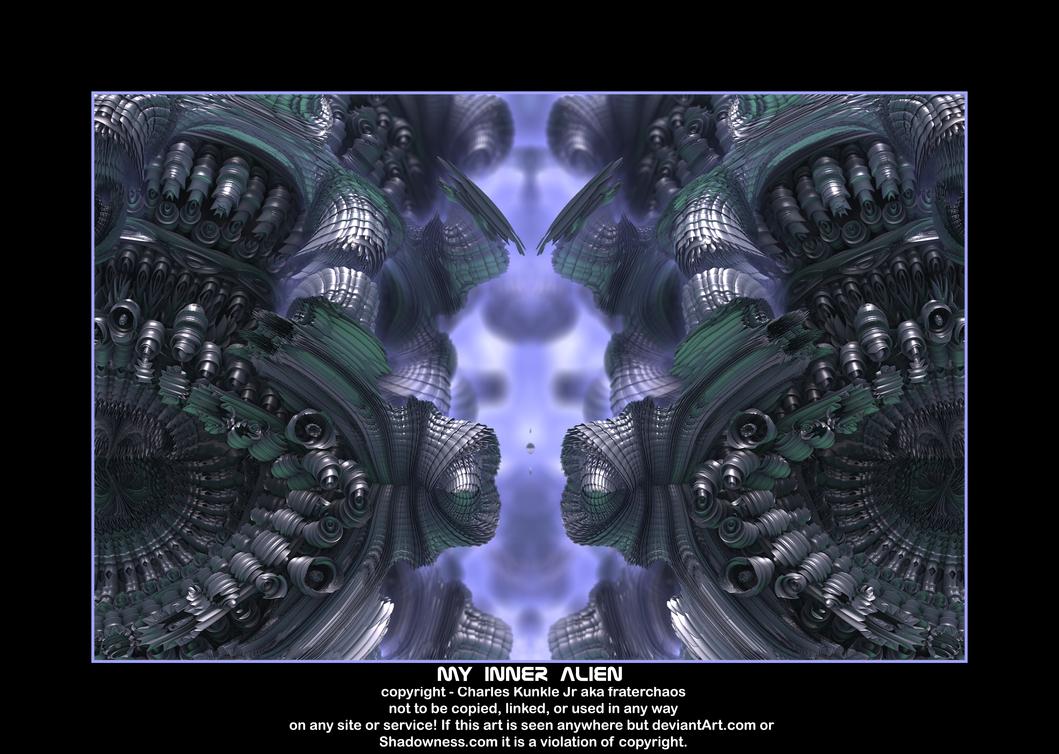 my inner alien by fraterchaos