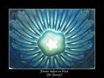 flower redux in blue (for Jenny)