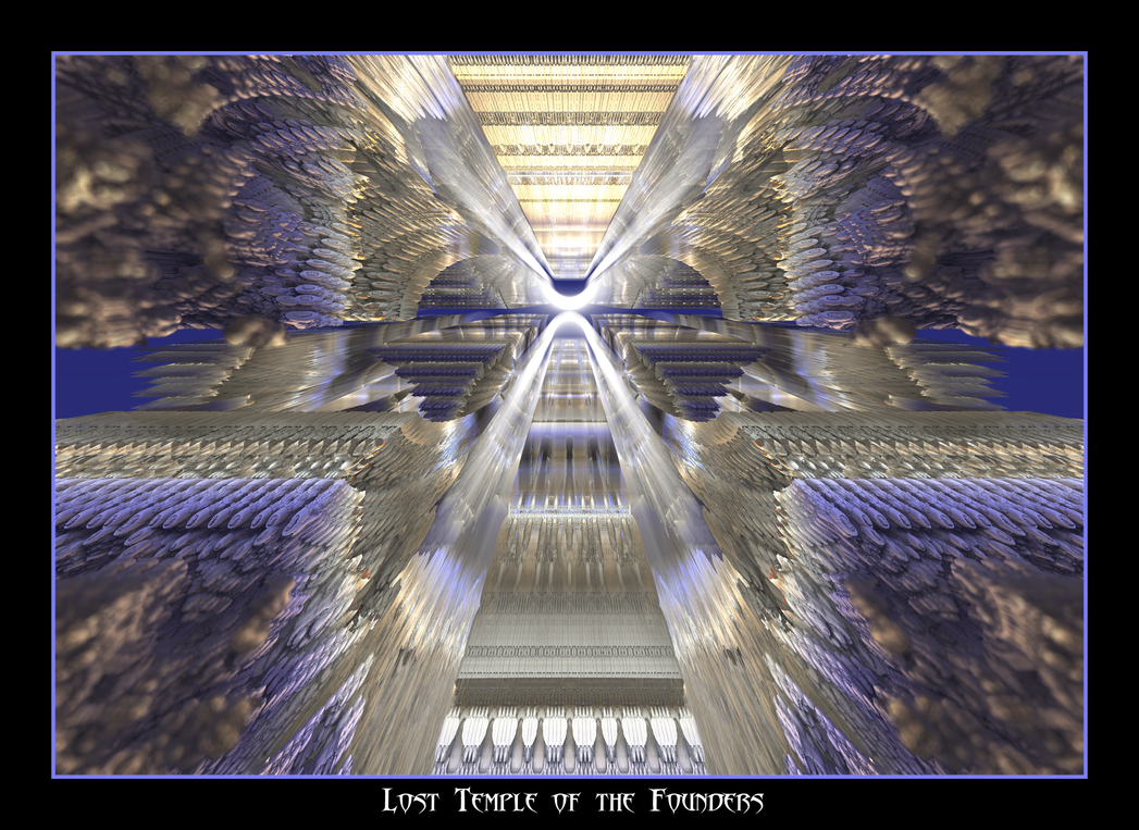 Lost Temple of the Founders by fraterchaos