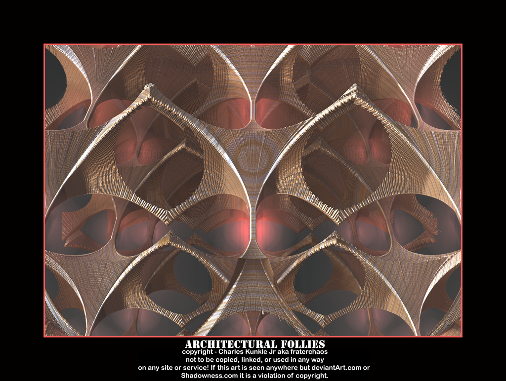architectural follies by fraterchaos