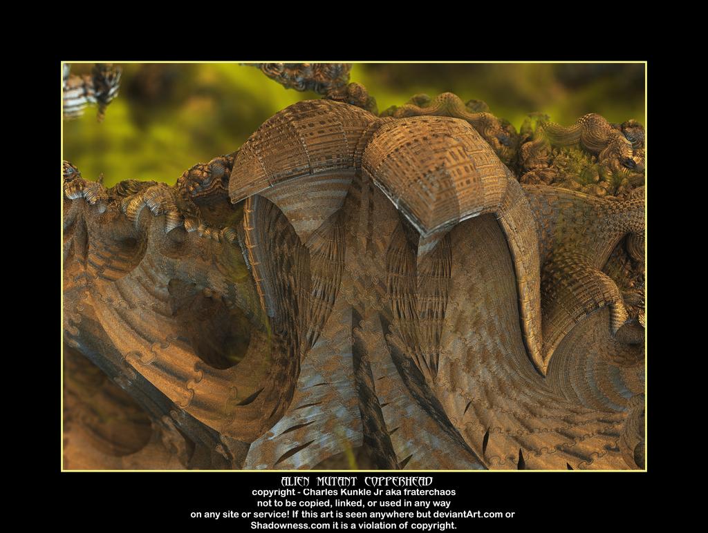 alien mutant copperhead by fraterchaos
