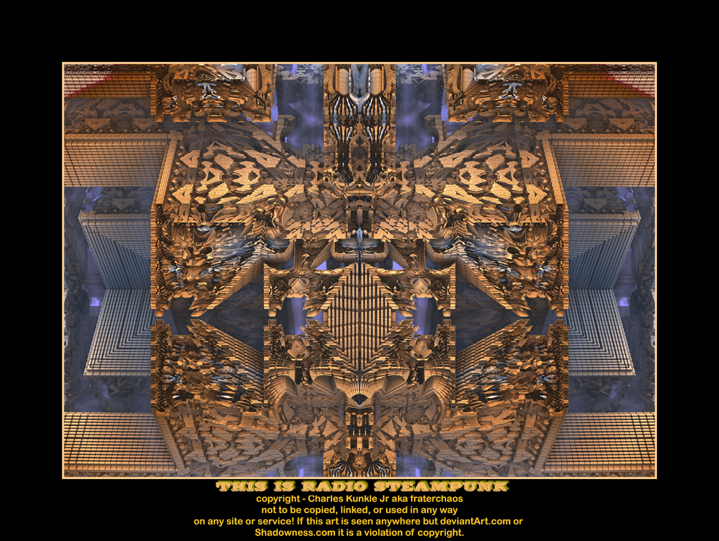this is radio steampunk by fraterchaos