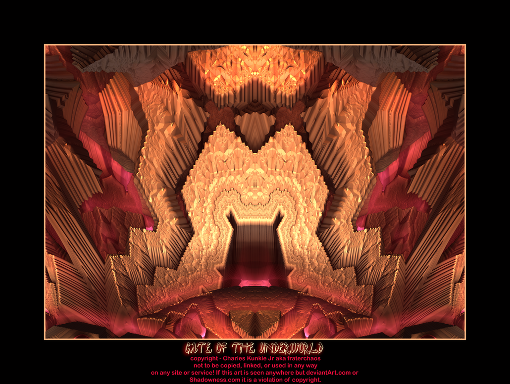gate of the underworld by fraterchaos