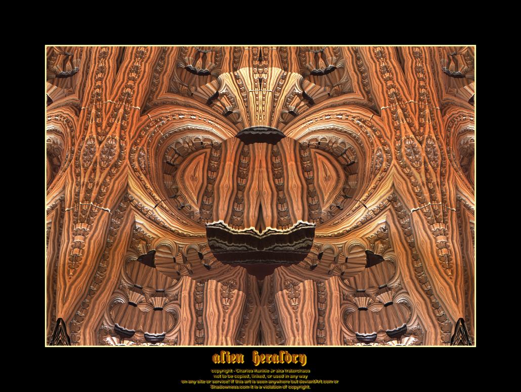 alien heraldry by fraterchaos