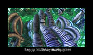 happy birthday MarkJayBee