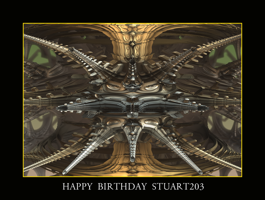 happy birthday Stuart203 by fraterchaos
