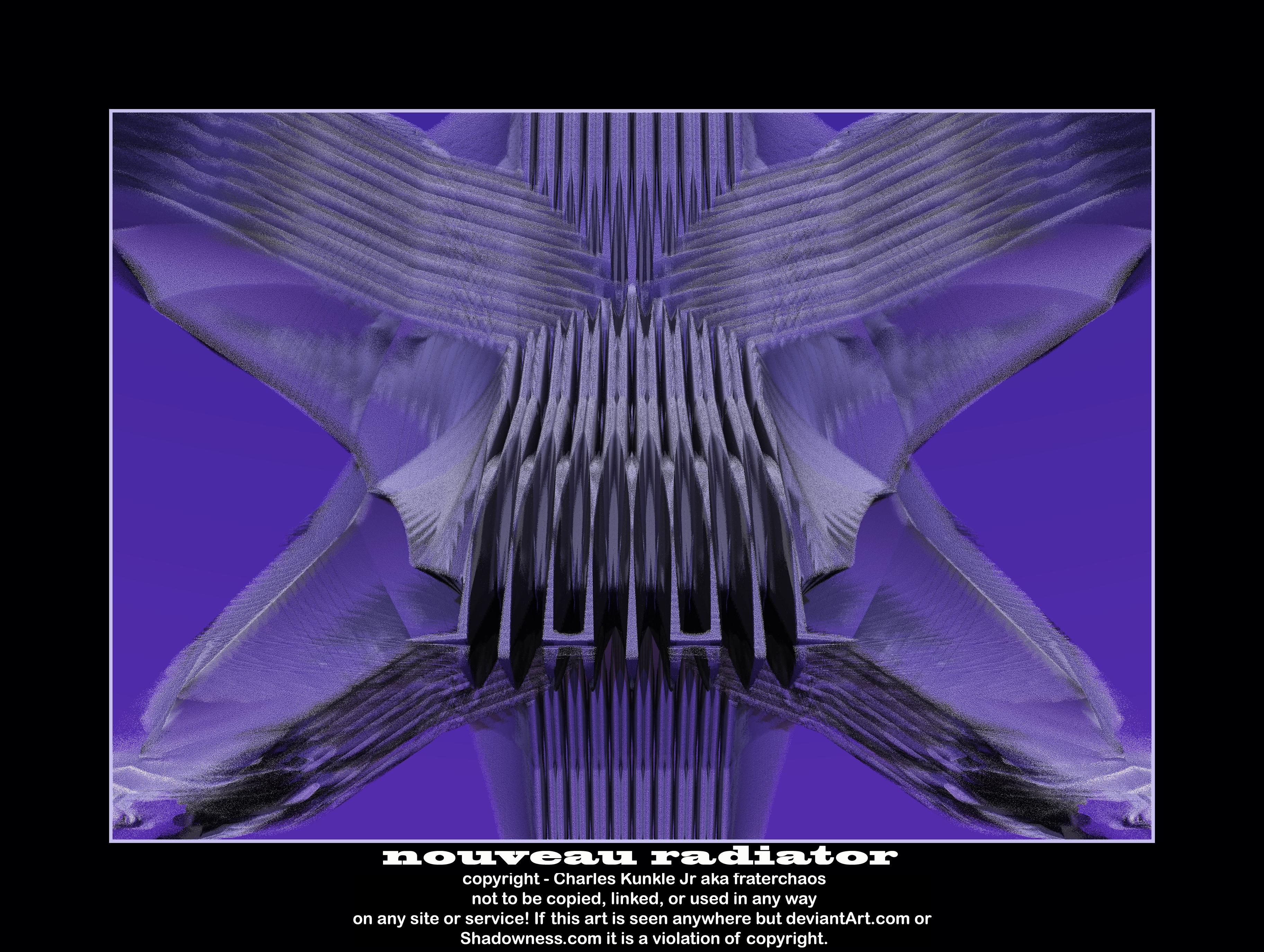 nouveau radiattor by fraterchaos