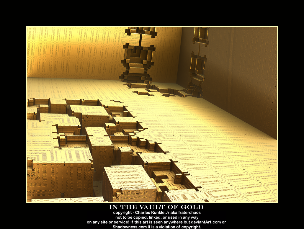 in the vault of gold by fraterchaos