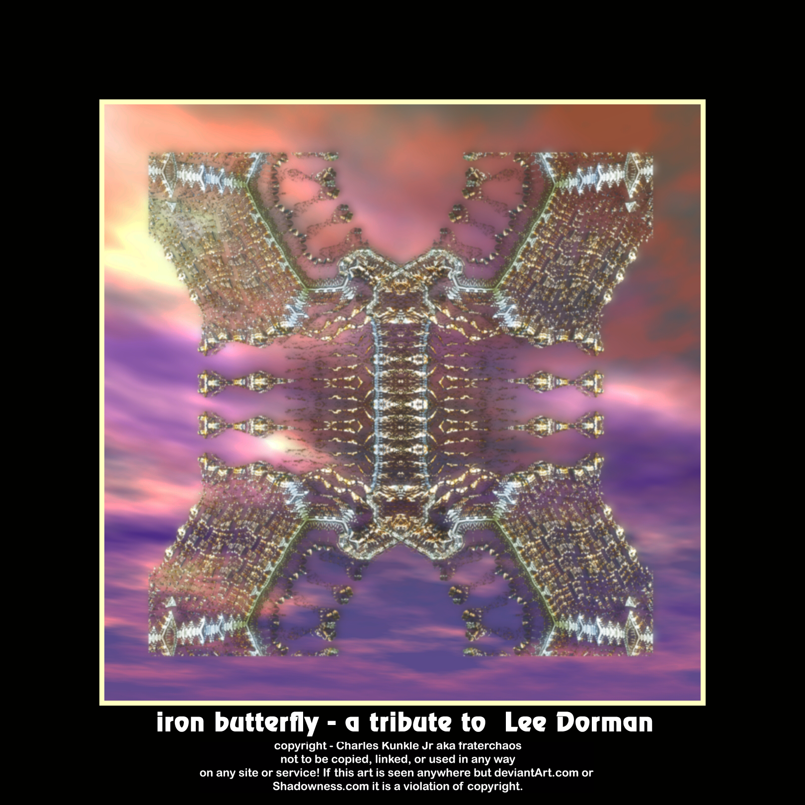 iron butterfly - a tribute to Lee Dorman by fraterchaos