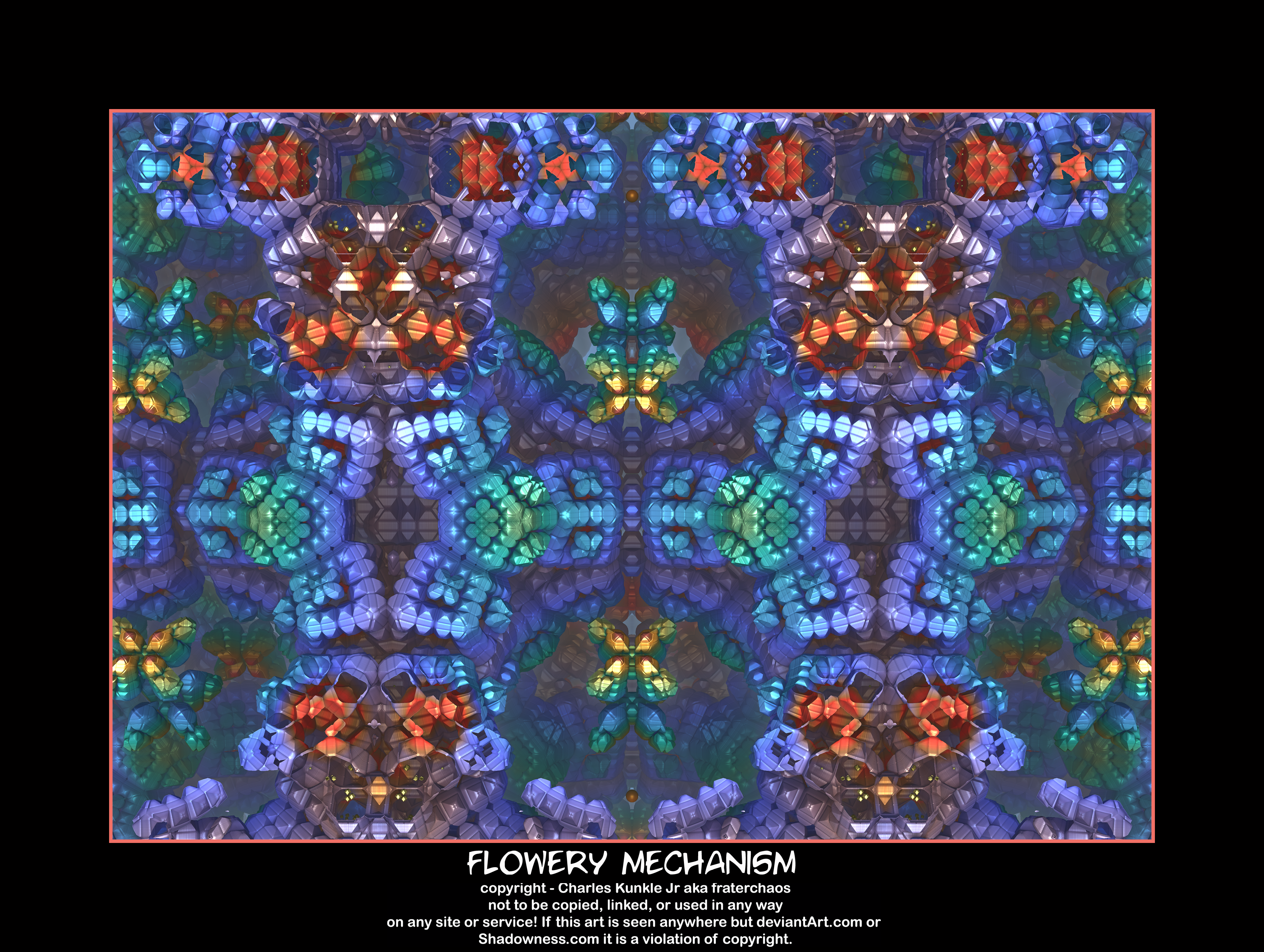 flowery mechanism by fraterchaos