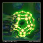 radioactive molecule