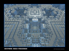 graphene mega-processor by fraterchaos