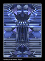 mechanical water flower by fraterchaos