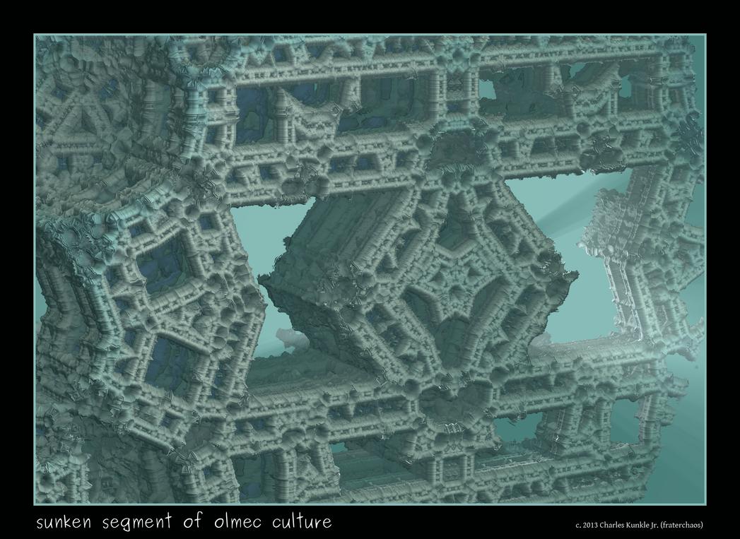 sunken segment of olmec culture by fraterchaos