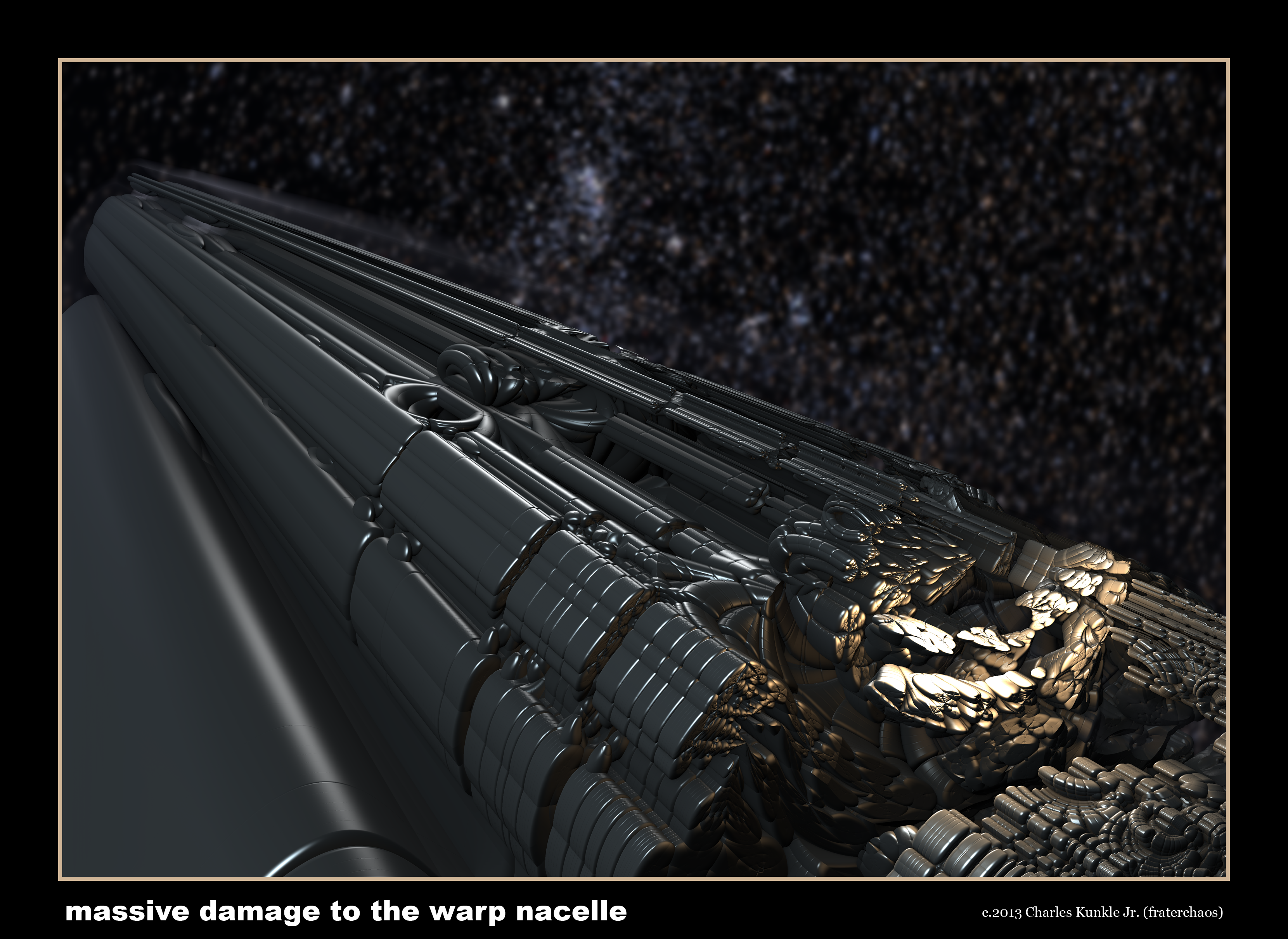 massive damage to the warp nacelle by fraterchaos