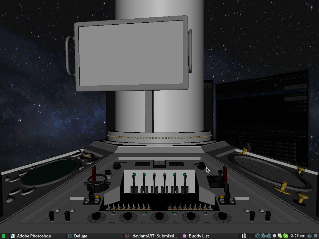WIP - Ultimate Dr. Who Desktop (youtube link)