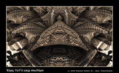 king tut's war machine by fraterchaos