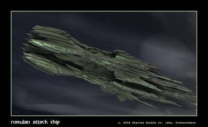 romulan attack ship