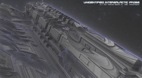 unidentified intergalactic probe