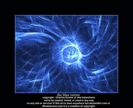 the blue vortex