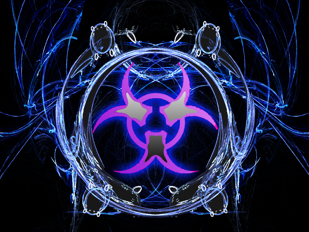 biohazard purple and blue by fraterchaos on DeviantArt
