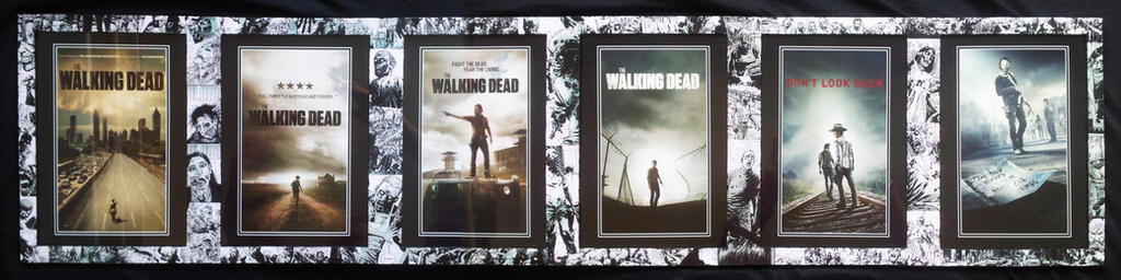 The Walking Dead picture frame by EvilDan on DeviantArt