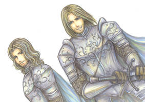 Boromir and Faramir by hashibayuya