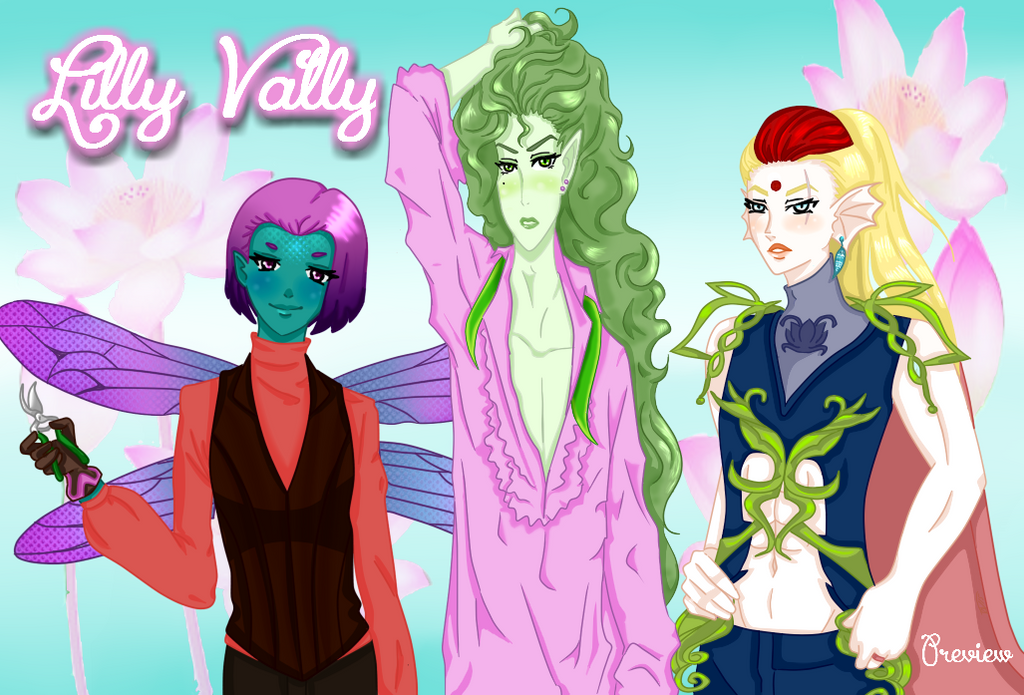 Lilly Vally Dating Sim *Preview* by Ask-LillyPond-Prince
