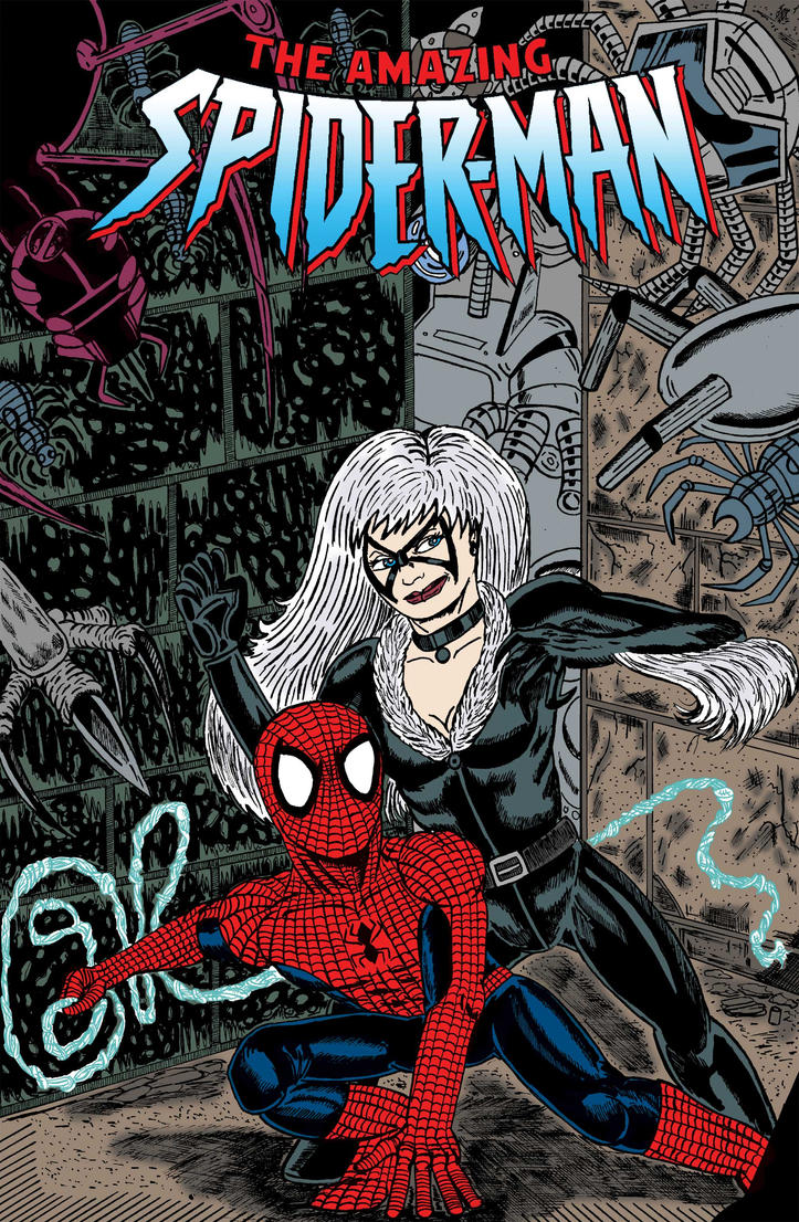 Spider-man Comic Cover Design by C4L on DeviantArt