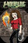 Witchblade Comic Cover Design