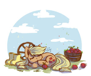 Little Applejack by Amy-Gamy