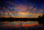 Colorful dusk